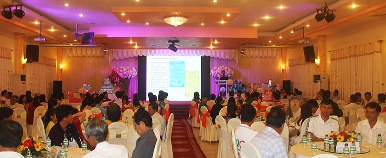 VWACO tổ chức Hội nghị tri ân khách hàng sử dụng sản phẩm Nước uống đóng chai Việt Úc