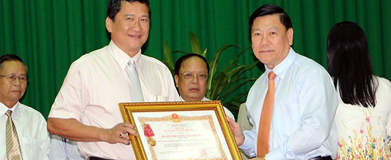 VWACO vinh dự đón nhận Huân chương lao động hạng Nhất